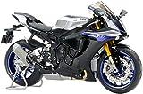 TAMIYA Yamaha YZF-R1M – Modélisme – Échelle 1:12 – Ajustement Parfait – Kit de Construction en Plastique – Modèle de Moto – À Monter Peint – 14133, Non laqué