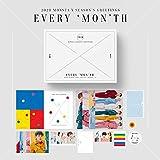 Starship Entertainment Monsta X - 2020 Monsta X Season's Greetings Calendario Set + DVD + Doble Cara Extra Photocards Set