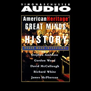 American Heritage's Great Minds of American History audiobook cover art