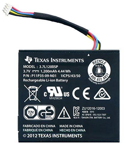 Texas Instruments N2BT/BKT/A vervangende accu met kabel voor TI-Nspire CX, TI-Nspire CX CAS en TI 84 Plus C Silver Edition