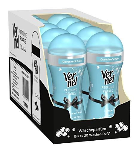 Vernel Wäscheparfüm Perfume Suprême Pearls Clean Fresh (10er Pack (10 x 230 g) Waschmittel)