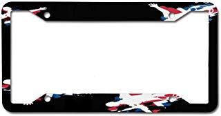 Funny Metal License Plate Tag Sign Decor for Car Woman Man 4 Holes - 12