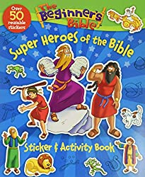 Beginners Bible Super Heroes of the Bible Sticker and Activity Book