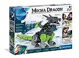 Clementoni 59215 Galileo Robotics – Mecha Dragon, Modellbausatz für einen Drachen-Roboter, 3 Motoren & App-Steuerung, elektronisches Spielzeug für Kinder ab 8 Jahren zu Weihnachten