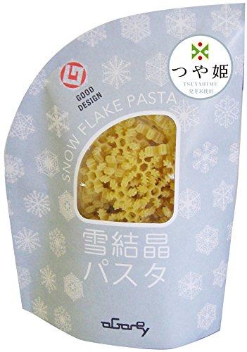 雪結晶パスタ つや姫発芽米 1袋入(100g)  【フード・アクション・ニッポン・アワード2014】入賞!!
