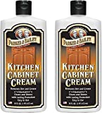 1. Parker and Bailey Kitchen Cabinet Cream - Wood Cleaner and Furniture Polish- Kitchen Cleaner and Cabinet Grease Remover- Wood Polish- 16 Ounce (2)
