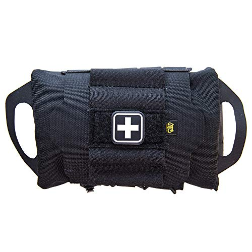 High Speed Gear Pouch - Reflex IFAK System | Roll and Carrier - Med roll...