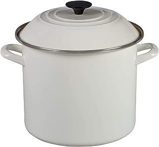12 qt cast iron stock pot