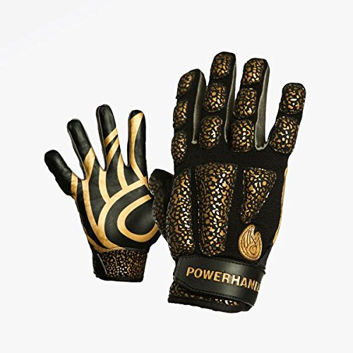 POWERHANDZ Weighted Anti-Grip Basketball Gloves for Strength and Resistance Training - Improve Dexterity and Arm Strength - Medium