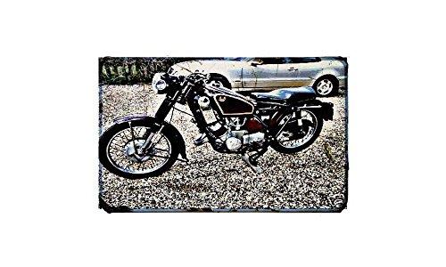 Birmingham Scott motorfiets A3 teken aluminium metalen Retro fiets