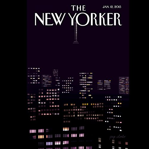 The New Yorker, January 12th 2015 (Margaret Talbot, Adam Gopnik, Malcolm Gladwell audiobook cover art