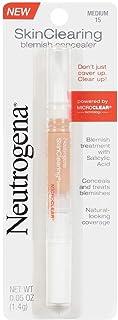 Neutrogena Skinclearing Blemish Concealer With Salicylic Acid, Medium 15.05 Oz.