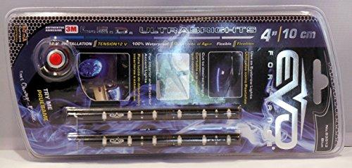 BANDE LED ULTRABRIGHT 10CM - BLEU - 2PCS