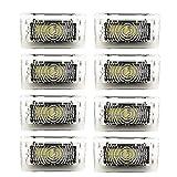 ACAMPTAR Kit de Bombillas LED de 8 Piezas Luz Frunk del Maletero para Tesla Model 3 S X LáMpara de Interior LED Ultra Brillante de FáCil Reemplazo de Enchufe