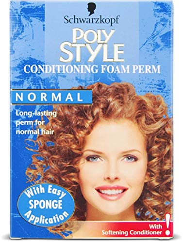 Schwarzkopf Poly Style Conditioning Foam Perm For Normal Hair