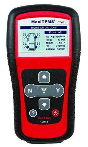 Autel MaxiTPMS TS401 Moniteur de pression des pneus, activation du capteur Re-Learn Reprogram TPMS, outil de diagnostic, système de surveillance de la pression des pneus