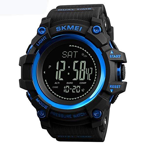 SKMEI 1358 3ATM Waterproof Smart Watch Outdoor Climbing Smart Bracelet Blue