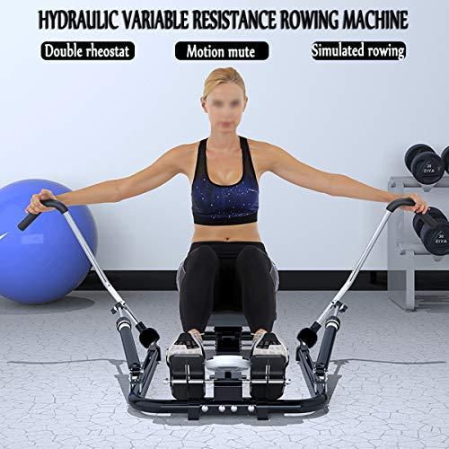 Hydraulische Roeimachine Rower Workout Fitness Gym Home Oefenapparatuur