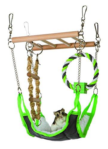 Trixie Hamaca & playbridge, o Jaula de hámster Mascota