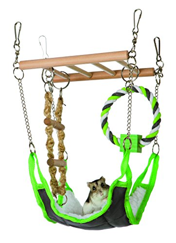 TRIXIE Pet Products 6298 Suspension Bridge, Green,...