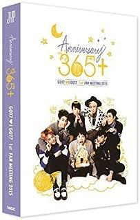 GOT7 - GOT7 1st FAN MEETING 2015 365+ DVD [2Discs + Photobook + 8 Postcards] Extra Gift Photocards Set