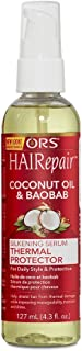 ORS HAIRepair Coconut Oil & Baobab Silkening Serum Thermal Protector