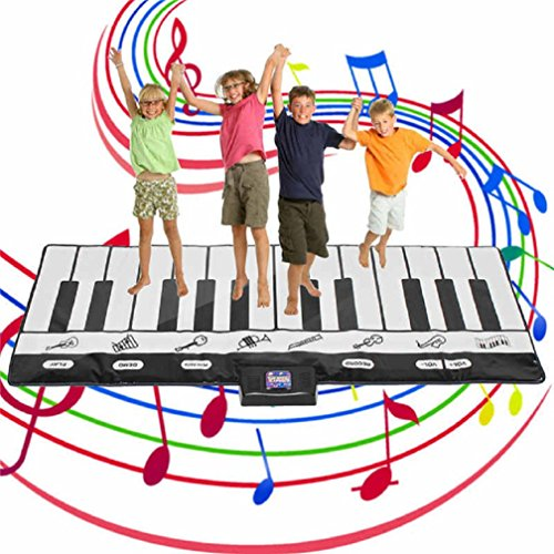Aodicon Play Floor Piano Kid Stepping Toys Electronic Music Keyboard Giant Mat Dance Exercise Mat Sport Toys For Kids Children