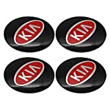 NA 56mm Car Wheel Center Hub Caps Pegatina para KIA K2 K3 K5 ceed Sorento Sportage R Rio Soul Decals