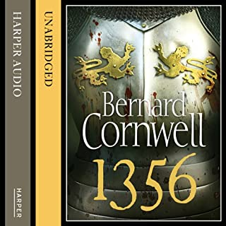 1356                   By:                                                                                                                                 Bernard Cornwell                               Narrated by:                                                                                                                                 Jack Hawkins                      Length: 11 hrs and 56 mins     416 ratings     Overall 4.5