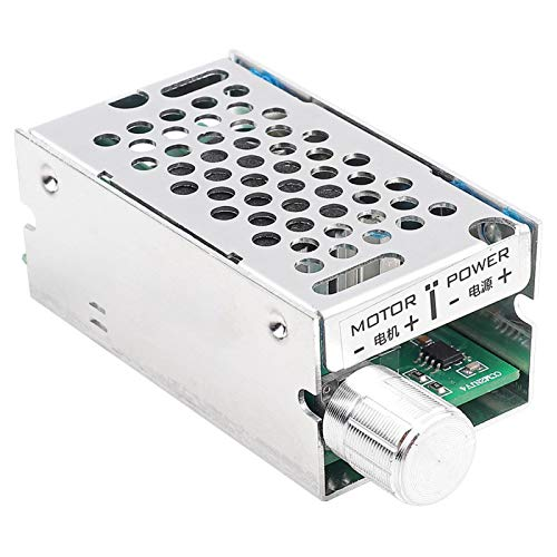 Les-Theresa DC9-60V PWM Controlador de velocidad del motor Interruptor regulador del regulador sin escalonamientos del motor