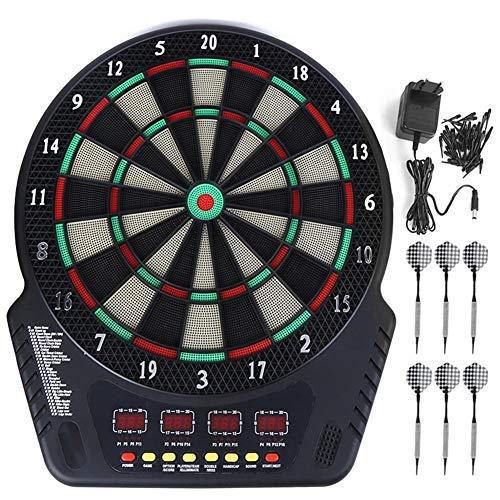 Romantisk Gåva4 LED EU-kontakt 230V LED-skärm Darttavla, Elektronisk Darttavla, Automatisk poäng för Fitness Game Toy Familjeaktivitetsrum Spelrum Kontor Fitness Bar