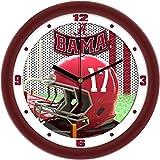 SunTime Alabama Crimson Tide - Football Helmet Wall Clock