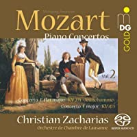 Piano Concertos 2 by CHRISTIAN / LAUSANNE CHAMBER ORCHESTRA ZACHARIAS (2013-06-18)