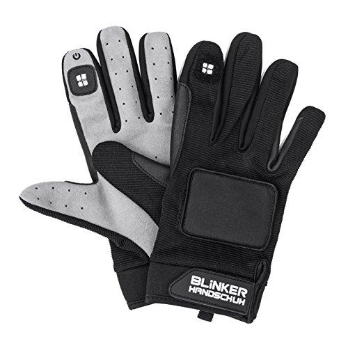 Blinker Handschuh 0500 Handschuhe Schwarz lang XL/XXL - 2