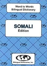 English-Somali & Somali-English Word-to-Word Dictionary: Suitable for Exams (English and Multilingual Edition)