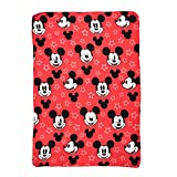 Jay Franco & Sons Disney Mickey Mouse Plush Fleece Throw Blanket for Kids, 45 x 60 inches
