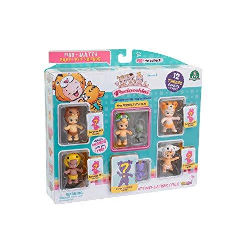 PACIOCCHINI Giochi Preziosi Together Pack, 6 Personaggi e 6 Animaletti, Modelli Assortiti