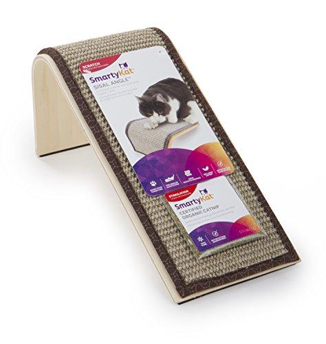 SmartyKat Sisal Angle Cat Scratcher Sisal Incline Scratcher