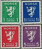 Prophila Collection Noruega 207-210 (Completa.edición.) 1940 león (Sellos para los coleccionistas)