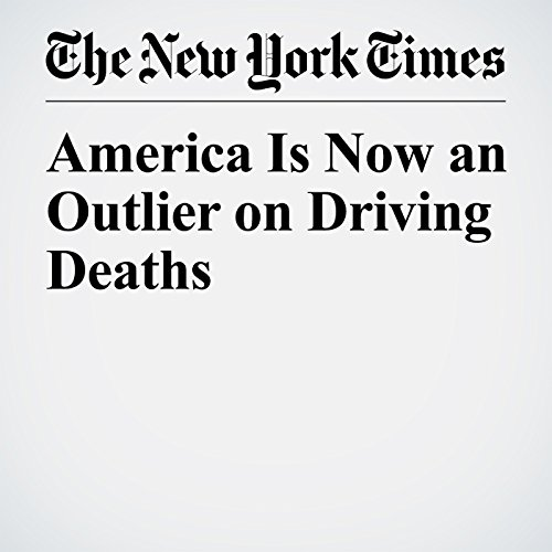 America Is Now an Outlier on Driving Deaths copertina