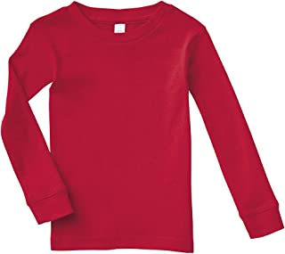 Rabbit Skins Infant 100% Cotton Long Sleeve Pajama Top
