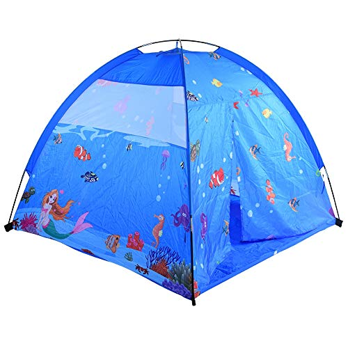 Yinuoday Kids Play Tent & Playhouse, Kids Pop Up Tent, Children Camping Playhouse, Indoor Outdoor Children Playhouse for Boys Girls 59.1x59.1x47.2in