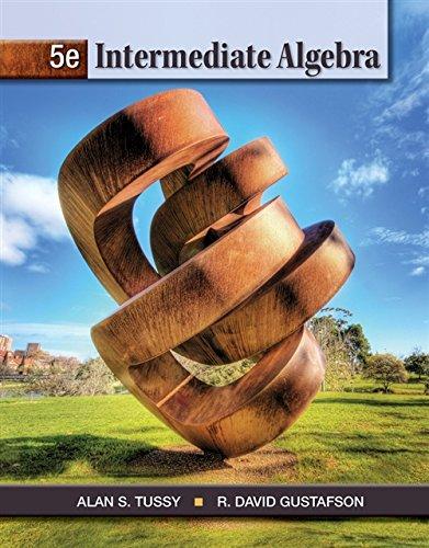 Intermediate Algebra Textbooks Available Cengage