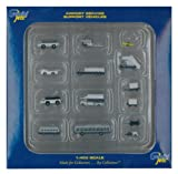 Gemini Jets Ground Airport Service Support Vehicles Accessories, 1:400 Scale, 14-Piece
