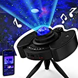 Pro Star Projector Night Light Christmas Gift Galaxy Sky Lite with Bluetooth Music Speaker Nightlight Mood for Bedroom, Home Theater, Game Rooms or Party Decoration, Gifts for Kids