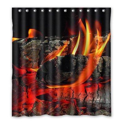 Dalliy Brauch feuer Wasserdicht Polyester Shower Curtain Duschvorhang 167cm x 183cm