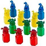 Kicko Dinosaur Bubble Bottles - 12 Pack - for...