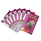 GonFan Los Libros para niños Oxford Reading Árbol de Libro 4-5 Inglés Matemáticas Ilustración Libro de imágenes for preescolares 7 Libros (Color : Multi-Colored, Size : 30x21cm)