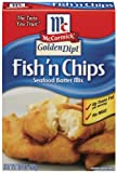 McCormick Golden Dipt Batter Mix, Fish and Chips, 10 oz