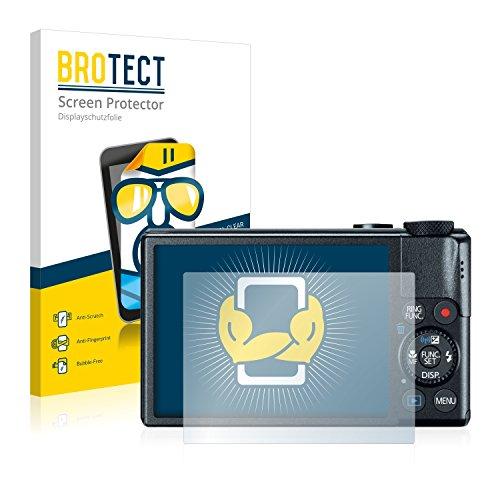 BROTECT Schutzfolie kompatibel mit Canon PowerShot S110 (2 Stück) klare Bildschirmschutz-Folie